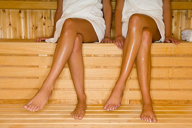Rilassati con la sauna a raggi infrarossi